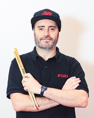 Javier Caces - Profesor-bateria